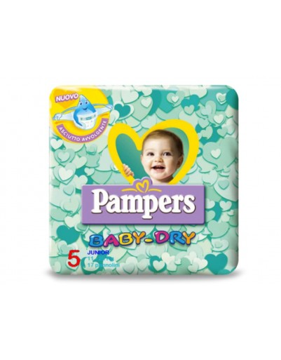 PAMPERS BABY DRY DOWN MINI 24P