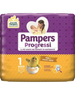 PAMPERS PROGRESSI SENS NEW28