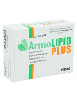 3 ARMOLIPID PLUS 20CPR