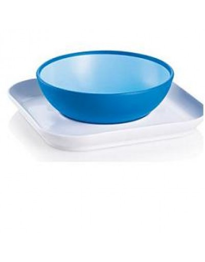 BABY'S BOWL&PLATE PIA+SOTTOPIA