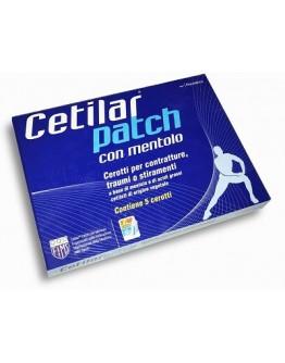 CETILAR PATCH MENTOLO 5PZ