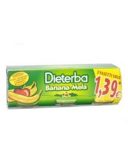 DIETERBA OMOG BANANA/MELA3X80G