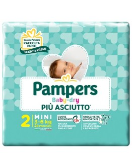 PAMPERS BABY DRY DWCT MIN24 BS