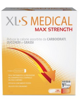 XLS MEDICAL MAX STRENGTH 120CP