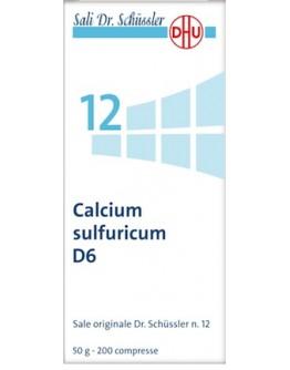 CALCIUM SULFUR 12SCHUSS 6DH 50
