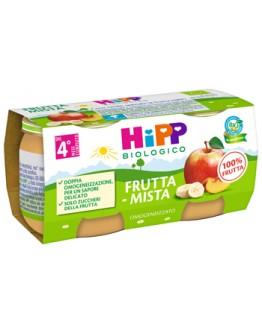HIPP OMOG FRUTTA MISTA 2X80G