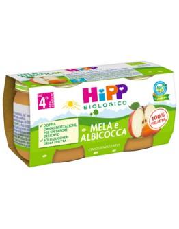 HIPP OMOG ALBICOCCA/MELA 2X80G