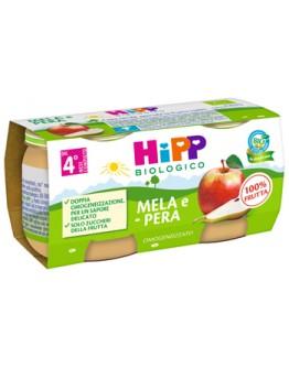 HIPP OMOG MELA/PERA 2X80G
