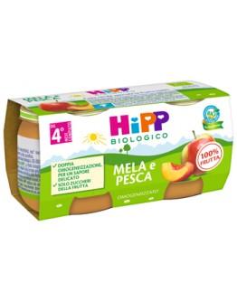 HIPP OMOG MELA/PESCA 2X80G
