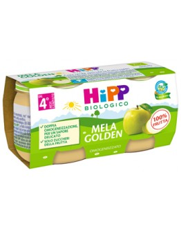 HIPP OMOG MELA GOLDEN 2X80G