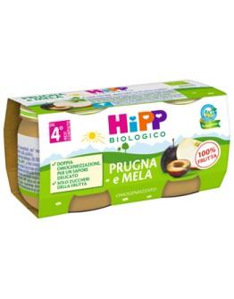 HIPP OMOG PRUGNA/MELA 2X80G