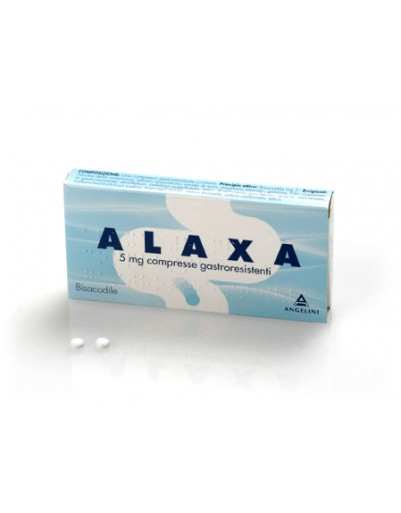 ALAXA*20CPR GASTR 5MG