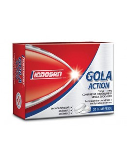 GOLA ACTION*20CPR OROS 3MG+1MG
