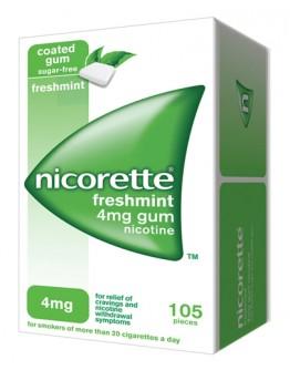 NICORETTE*105GOMME MAST 4MG ME