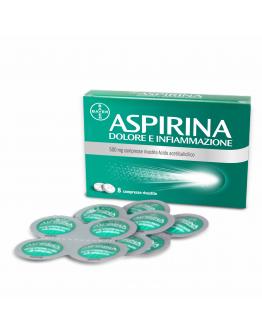 ASPIRINA DOLORE INF*8CPR 500MG