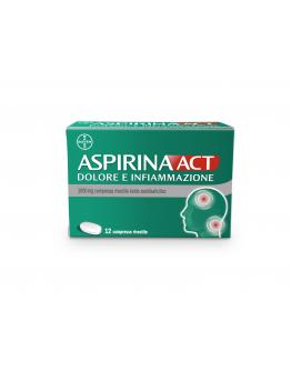 ASPIRINAACT DOL INF*12CPR 1G